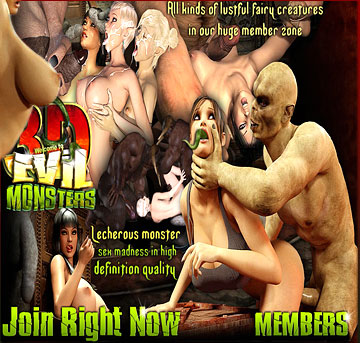 digital evil monsters porn